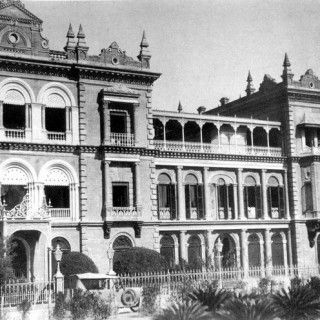 building ola palace of King of Nepal
