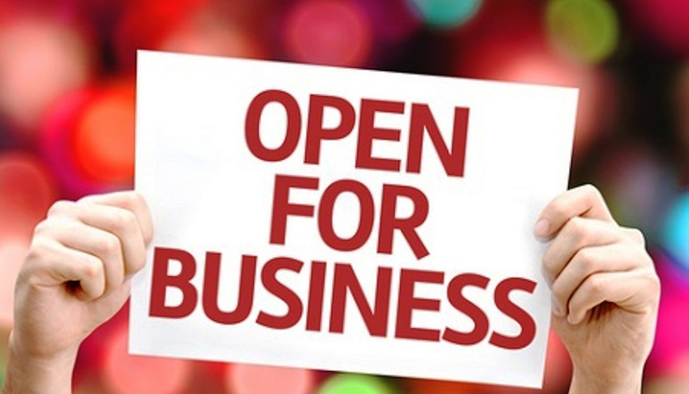 open-for-business share