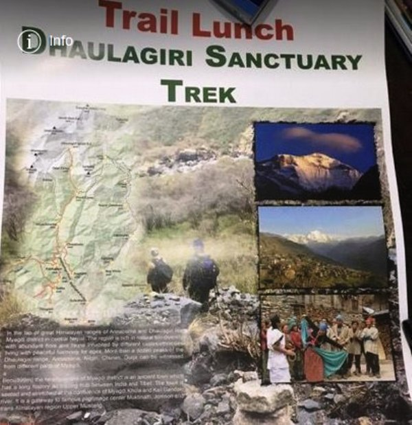 dhaulagiri sancturay trek trail launch